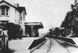 Bramley & Wonersh Station - late 1800's - looking North