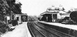 Bramley & Wonersh Station - late 1800's - looking South