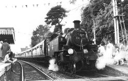 Bramley & Wonersh Station - The last scheduled 'up' train - 12th June 1965