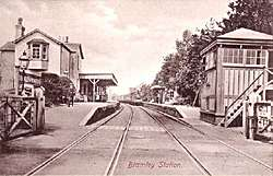 Bramley & Wonersh Station - 1908 - looking North