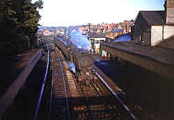 Cranleigh Station - Sunday Special after closure - June 1965