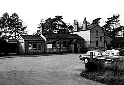 Cranleigh Station Building - early 1960's