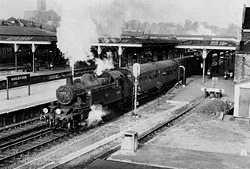 Guildford Station in the early 1960's