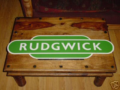 Rudgwick Station Replica Totem