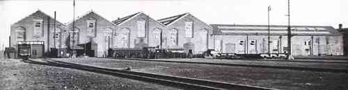 Eastleigh Railway Works in the 1930's
