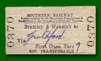 Train Ticket - Bramley to Guildford